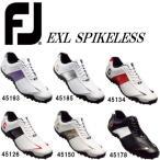 フットジョイ ゴルフシューズ メンズ EXL スパイクレス 451** 日本正規品【■Ac■】