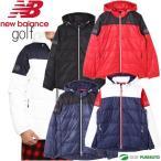 ca4aab78830e6 31位 ニューバランスゴルフ バッファローチェックエンボス×ソリッド フルジップ ダウンブルゾン 4WAY メンズ 012-8220008