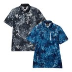 オークリー ゴルフ 半袖 ポロシャツ スカル フルブルームシャツ メンズ FOA400801