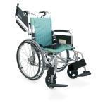 車椅子 カワムラサイクル 軽量 自走式車いすKA822L-40