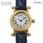 カルティエ Cartier ミニディアボロ レディース 腕時計 K18YG イエローゴールド 750 クォーツ ウォッチ