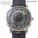 ルイ ヴィトン LOUIS VUITTON エスカル オトマティック タイムゾーン Q5D20 メンズ 腕時計 自動巻き ウィッチ