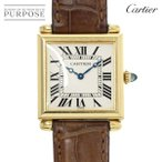 カルティエ Cartier タンクオビュ W1512256 レディース 腕時計 K18YG イエローゴールド 750 クォーツ ウォッチ