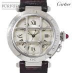 カルティエ Cartier パシャ グリッド W3102255 メンズ 腕時計 150周年記念 1847本 限定モデル デイト オートマ 自動巻き ウォッチ