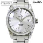 オメガ OMEGA シーマスター アクアテラ 2518 30 メンズ 腕時計 デイト シルバー 文字盤 クォーツ ウォッチ