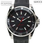 グッチ GUCCI ダイブ YA136303 メンズ 腕時計 ブラック 文字盤 デイト クォーツ ウォッチ