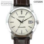 シチズン CITIZEN ザ シチズン CTQ57 1203 メンズ 腕時計 A660 T013368 デイト アイボリー 文字盤 クォーツ ウォッチ