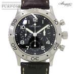 ブレゲ BREGUET アエロナバル タイプXX 3800ST クロノグラフ メンズ 腕時計 ブラッ...