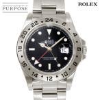 ロレックス ROLEX 16570 エクスプローラー2 メンズ 腕時計 デイト トリチウム ブラック 文字盤 オートマ 自動巻き ウォッチ