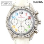 オメガ OMEGA スピードマスター 3836 70 トリノ オリンピック コレクション レディース 腕時計 ホワイトシェル 文字盤 自動巻き オートマ ウォッチ