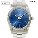 ロレックス ROLEX エアキング 14000 T番 メンズ 腕時計 ブルー 青 文字盤 オートマ 自動巻き ウォッチ