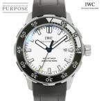 IWC アクアタイマー 2000 IW356806 メンズ 腕時計 デイト ホワイト 文字盤 オートマ 自動巻き インターナショナル ウォッチ カンパニー