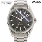 オメガ OMEGA シーマスター アクアテラ 231 10 39 60 06 001 メンズ 腕時計 デイト グレー 文字盤 クォーツ ウォッチ