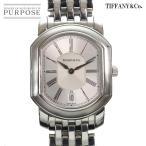 ティファニー TIFFANY&CO. マーククーペ メンズ 腕時計 デイト シルバー 文字盤 クォーツ ウォッチ
