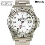 ロレックス ROLEX エクスプローラー2 16570 A番 メンズ 腕時計 デイト ホワイト 文字盤 オートマ 自動巻き ウォッチ
