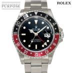 ロレックス ROLEX GMTマスター2 16710 W番 トリチウム 赤黒ベゼル メンズ 腕時計 デイト ブラック 文字盤 オートマ 自動巻き ウォッチ