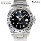 ロレックス ROLEX エクスプローラー2 16570 P番 メンズ 腕時計 デイト ブラック 文字盤 オートマ 自動巻き ウォッチ