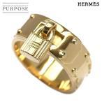エルメス HERMES ケリー リング #52 K18YG 18金イエローゴール 750 指輪
