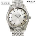 オメガ OMEGA シーマスター 166 010 メンズ 腕時計 Cal.564 デイト シルバー 文字盤 クロノメーター オートマ 自動巻き ウォッチ アンティーク