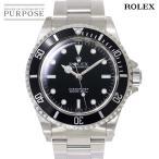 ロレックス ROLEX サブマリーナ ノンデイト 14060 A番 メンズ 腕時計 ブラック 文字盤 オートマ 自動巻き ウォッチ
