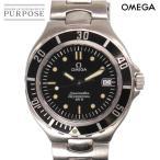 オメガ OMEGA シーマスター プロフェッショナル 200 メンズ 腕時計 2850 50 ブラック 文字盤 クォーツ ウォッチ