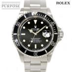 ロレックス ROLEX サブマリーナ デイト 16610 W番 メンズ 腕時計 ブラック 文字盤 オートマ 自動巻き ウォッチ