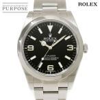 ロレックス ROLEX エクスプローラ1 214270 ランダム ルーレット メンズ 腕時計 ブラック 文字盤 オートマ 自動巻き ウォッチ