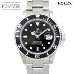 「ロレックス ROLEX サブマリーナ デイト 16610 L番 メンズ 腕時計 トリチウム ブラック 文字盤 オートマ 自動巻き ウォッチ」の画像