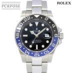 ロレックス ROLEX GMTマスター2 116710BLNR ランダム ルーレット ブルー ブラック メンズ 腕時計 デイト オートマ 自動巻き ウォッチ GMT Master 2