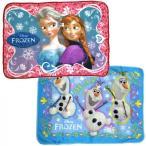 ひざ掛け フリースブランケット アナ雪 アナと雪の女王 ディズニー Frozen アナ エルサ オラフ   70cm×100cm
