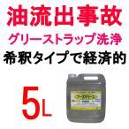 国際規格をクリアした環境対応 業務用油分散処理剤 エコエスト アースクリーン 5LT-043
