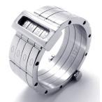 PW 日本未発売高品質ステンレス パスワード 指輪 条件付 送料無料 20686