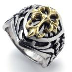 戒指 - PW 大人気高品質ステンレス クロムハーツ風 指輪 条件付 送料無料 21893