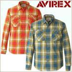 ≡AVIREX USA≡ アヴィレックス ライトネルチェックワークシャツ