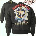 AVIREX アビレックス 40周年記念  MA-1 フライトジャケット バックペイント JKT