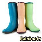 【在庫一掃セール】 レディースレインブーツ・雨靴・3タイプ選択可能