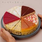 誕生日ケーキ バースデーケーキ 10種のチーズケーキセット 7号 21.0cm 送料無料(※一部地域除く)