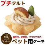 犬用ケーキ 誕生日ケーキ わんちゃん用 犬用 ワンちゃん用 プチタルト 栗のタルト  ペットケーキ