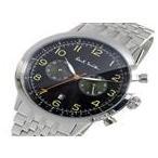 ★ ポールスミス PAUL SMITH クロノ クオーツ メンズ 腕時計 P10018 ブラック ★ ラッピング可 【送料無料】