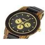 ★ ウィーウッド WEWOOD 木製 KAPPA ZEBRANO CHOCO カッパー メンズ 腕時計 9818110 ブラック 国内正規 ★ ラッピング可 【送料無料】