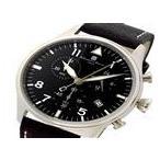 サルバトーレ マーラ SALVATORE MARRA  クロノ クオーツ メンズ 腕時計 SM17113-SSBK ブラック ラッピング可