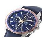 ★ カシオ CASIO エディフィス EDIFICE クオーツ メンズ 腕時計  EFR-526L-2AV ブルー ★ ラッピング可