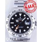 ロレックス エクスプローラーII 黒文字盤 216570を最安値販売価格に挑戦中 中古最安!