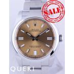 ロレックスオイスターパーペチュアルPIV日本正規116000(WHグレープ/WHバー)中古美品