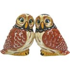 Mwah Owls Magnetic Salt & Pepper Shakers