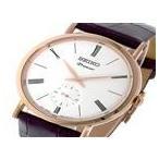 ● セイコー SEIKO プルミエ Premier クオーツ ユニセックス 腕時計 SRK038P1 ホワイト ● ラッピング可 【送料無料】