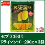 ドライマンゴー セブ 200g×3袋 送料無料 ドライフルーツ