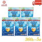 送料無料 はくばく 水出しでおいしい麦茶 360g(20g×18袋) × 5袋