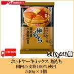 日清 ホットケーキミックス 極もち 国内麦小麦粉100%使用 540g 送料無料 ポイント消化
