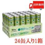 青森りんごジュース シャイニー 贅沢りんご王林 すりりんご入り 160g×24本 送料無料 ポイント消化